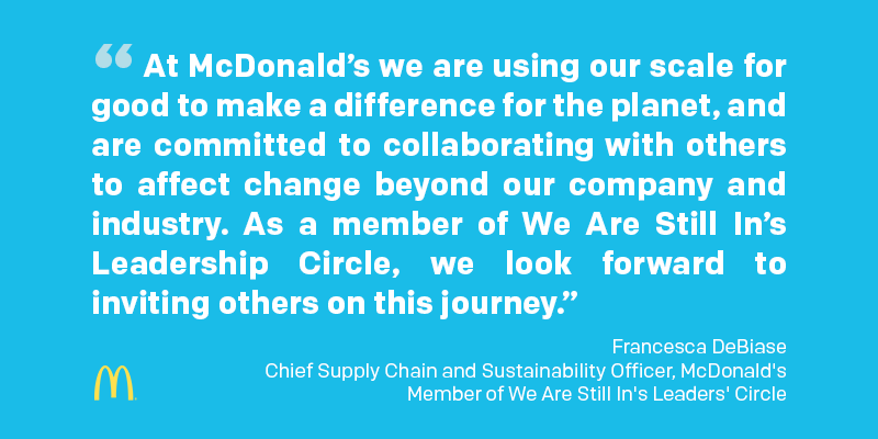 McDonalds Rachael Sherman discusses sustainability