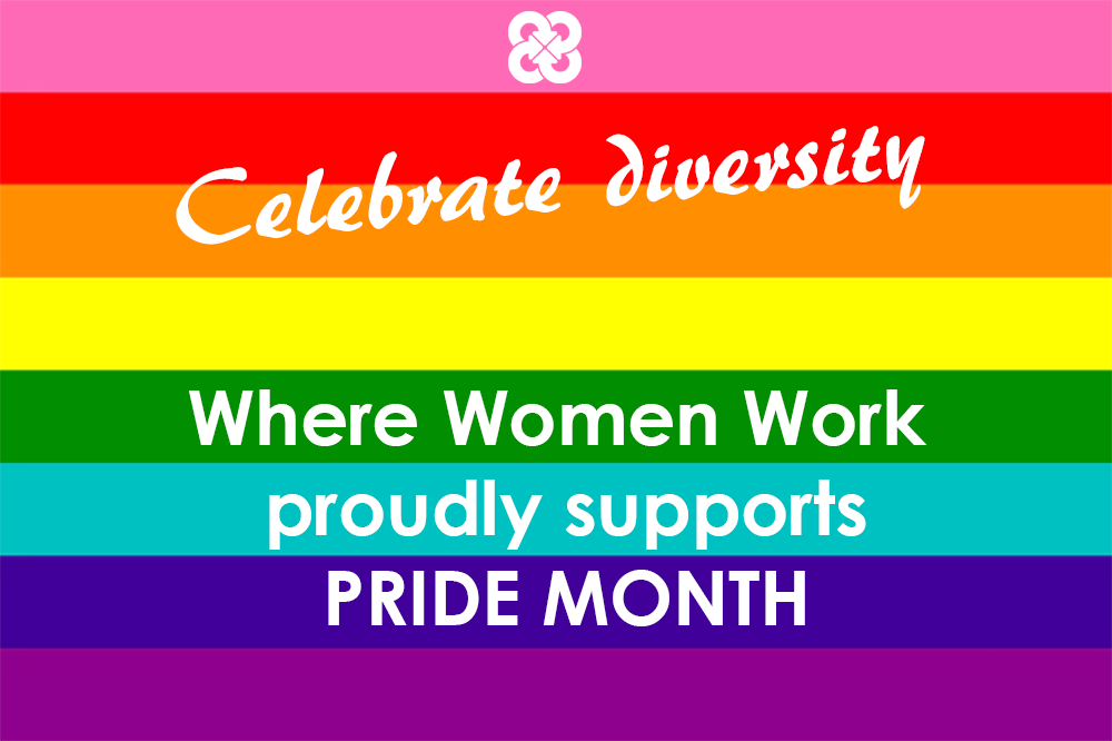 Were celebrating inclusion and diversity through PRIDE month