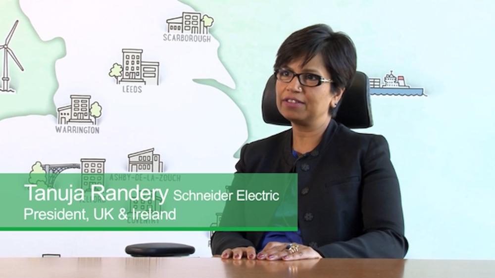 Leading business, Schneider Electrics Tanuja Randery